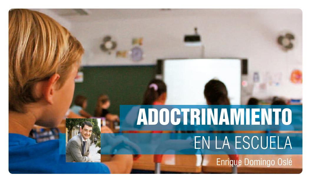 Adoctrinamiento en la escuela