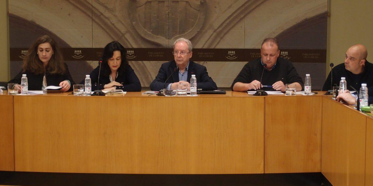 Comparecencia en el Parlamento de La Rioja: gratuidad de los libros de texto
