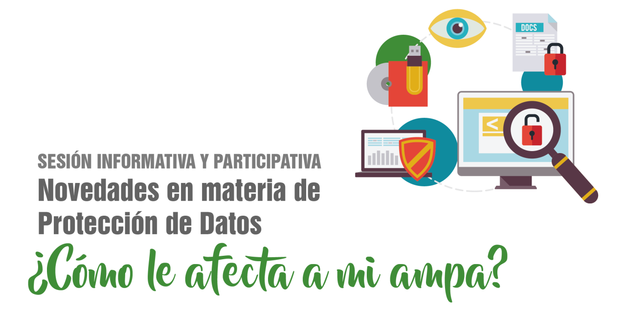 Sesión: Novedades en materia de protección de datos · 9 de mayo